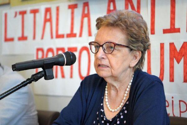È morta Carla Nespolo, presidente dell'Anpi nazionale