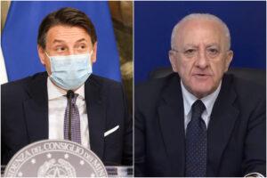 """Campania, 2.861 contagi e 24 morti. De Luca chiede lockdown nazionale: """"Frenare mobilità e assembramenti"""""""