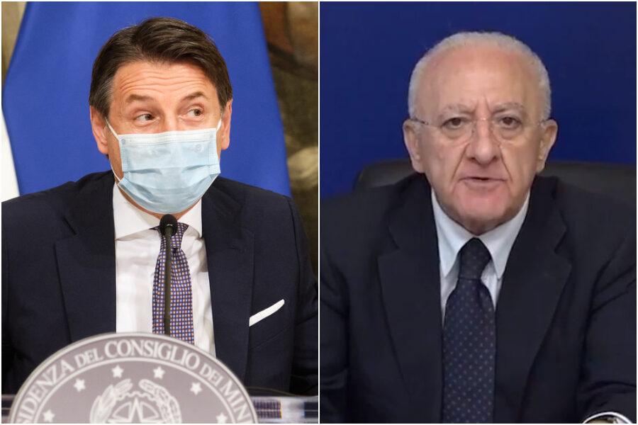 """Lockdown territoriali, De Luca e Fontana: """"Misure nazionali, il virus circola"""""""