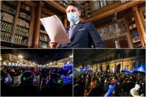 Scontri in piazza e liti nel governo: il virus ha preso il potere