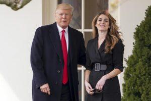 Chi è Hope Hicks, la consigliera di Trump positiva al Coronavirus che avrebbe contagiato il presidente