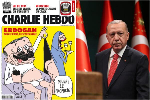 Charlie Hebdo e la vignetta su Erdogan: benzina sul fuoco delle tensioni tra Francia e Turchia