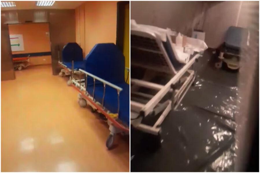 """""""Tutti a terra stanno morendo"""", il video fake della negazionista sull'ospedale San Paolo"""