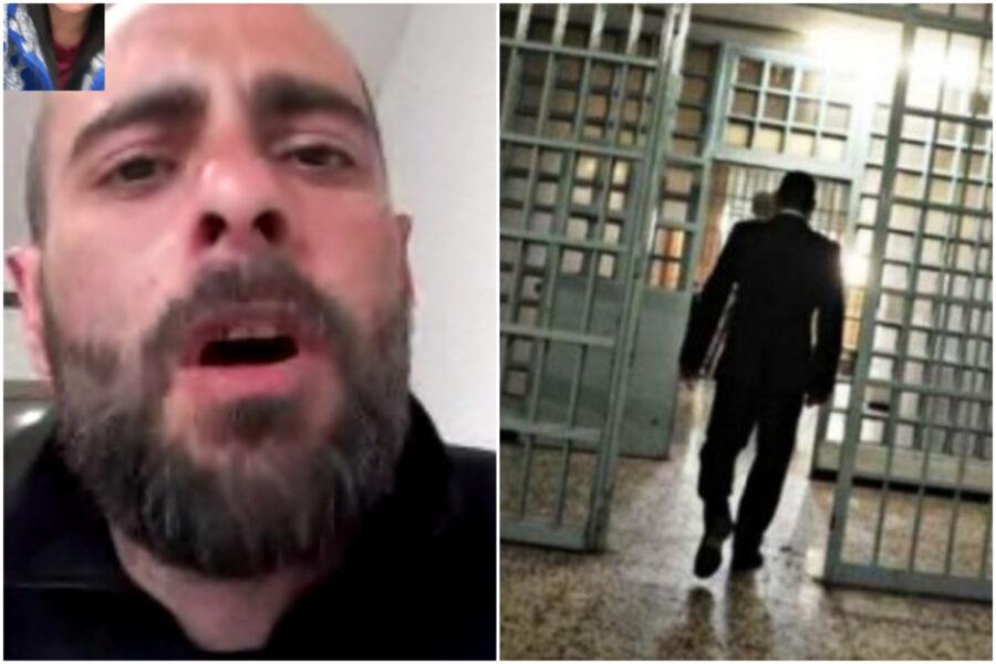 """Presunte violenze in carcere, la famiglia: """"Dopo denunce mediatiche abbiamo paura che lo tratteranno peggio"""""""
