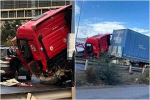 Schianto contro un Suv all'imbocco dell'autostrada, camionista in codice rosso