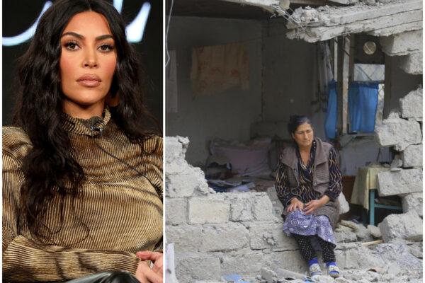 Kim Kardashian dona un milione di dollari all'ong attiva in Nagorno Karabakh: centinaia di morti negli scontri