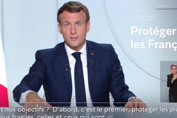 """Macron chiude la Francia: """"Siamo sommersi, lockdown fino al primo dicembre"""""""