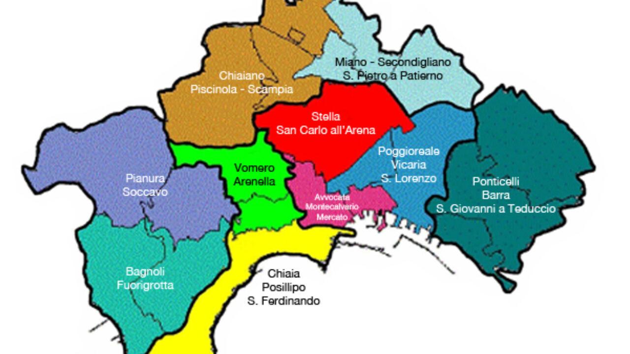 Cartina Vomero Napoli.Coronavirus A Napoli La Mappa Dei Quartieri Piu Contagiati Il Riformista