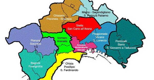 Cartina Geografica Politica Campania.Coronavirus A Napoli La Mappa Dei Quartieri Piu Contagiati Il Riformista