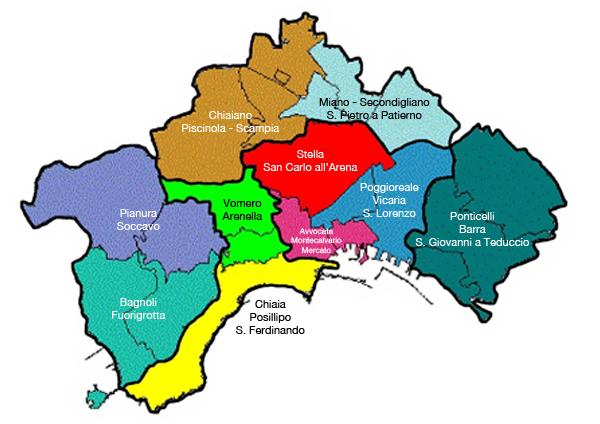 Cartina Stradale Di Napoli Centro.Coronavirus A Napoli La Mappa Dei Quartieri Piu Contagiati Il Riformista