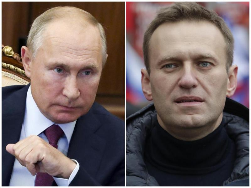 """Navalny accusa Putin: """"C'è lui dietro il mio avvelenamento"""""""