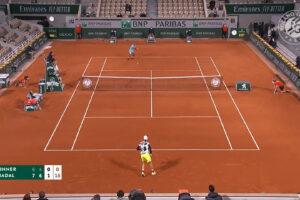 Roland Garros 2020, la vittoria di Rafael Nadal contro Jannik Sinner