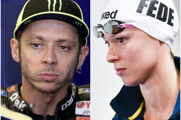 Federica Pellegrini e Valentino Rossi positivi: lo sport ancora colpito dal coronavirus