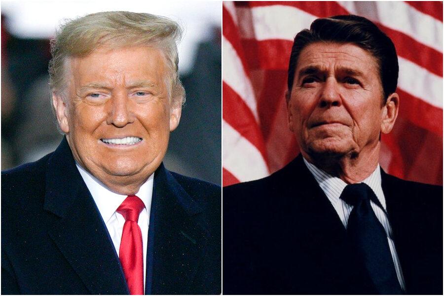 Donald Trump, il presidente che voleva essere Reagan ma ha fatto la guerra in casa