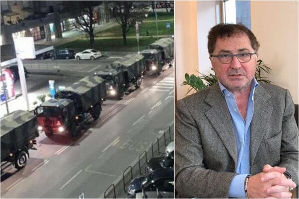"""Coronavirus, l'allarme dei medici di Napoli: """"Facciamo presto o vedremo sfilare i carri militari con le bare"""""""