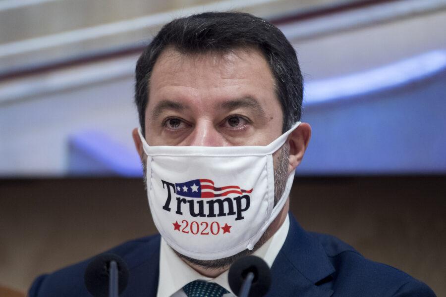 """Salvini è la """"cheerleader"""" di Trump: l''Independent' sul leghista che evoca  brogli sul voto americano - Il Riformista"""