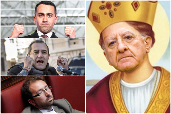 """De Luca, il triplo miracolo alla San Gennaro e gli attacchi ai ministri grillini e a de Magistris: """"Imbecille"""""""