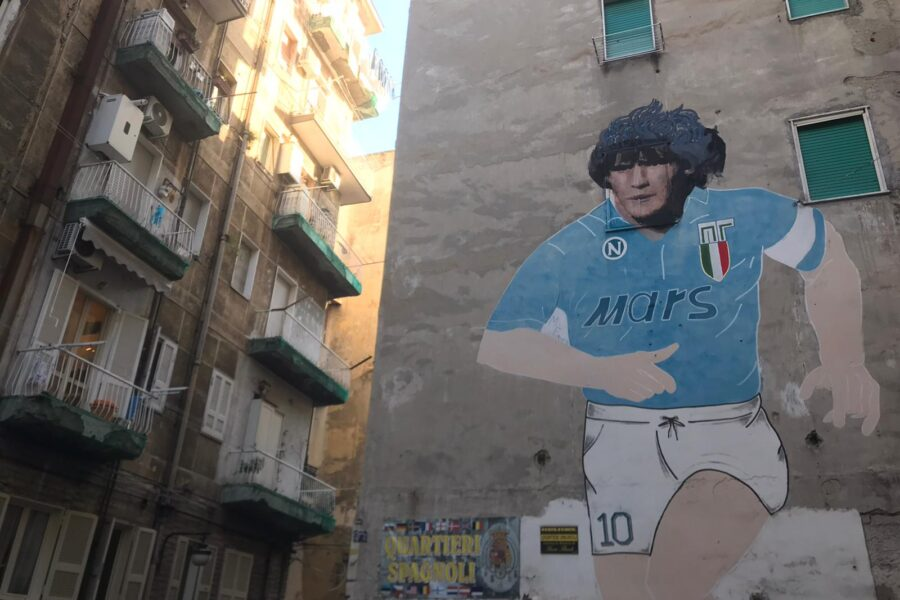 Un monumento a Diego Maradona al Cimitero degli Illustri di Napoli: l'idea dell'impresa funebre partenopea