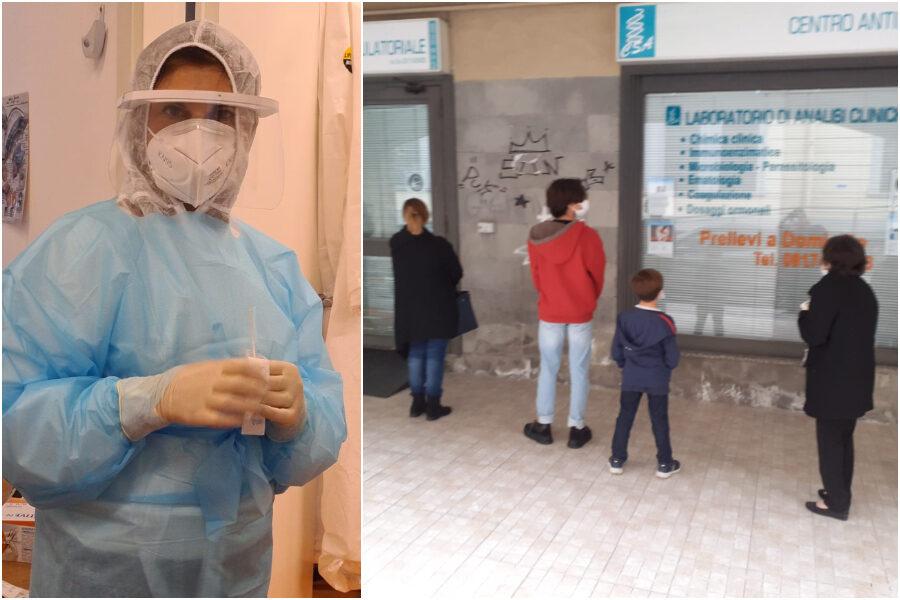 Coronavirus, a Marano il tampone sospeso: solidarietà per lo screening di tutti