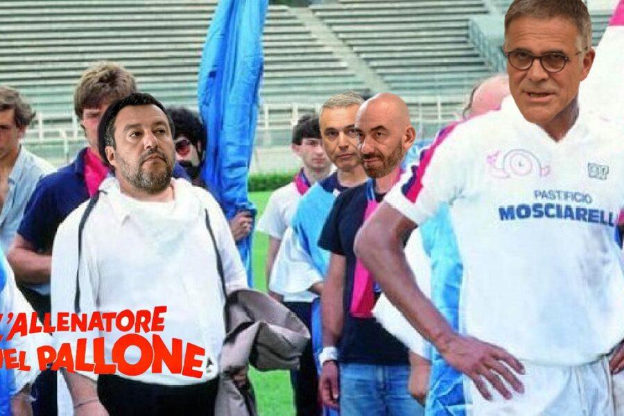 Salvini presenta il suo CtS: Zangrillo, Bassetti e Palù nel team del leghista