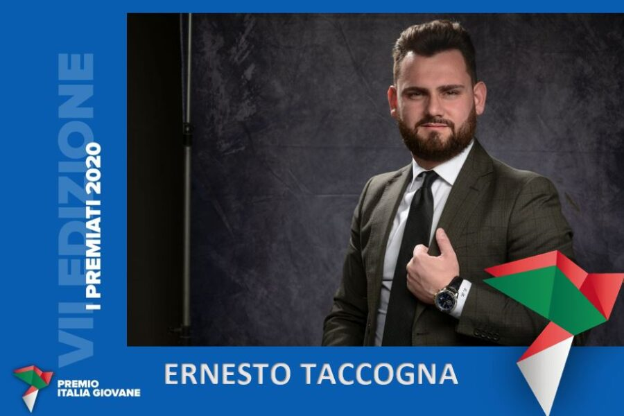 Premio Italia Giovane 2020, Napoli sul podio con Ernesto Taccogna
