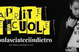 """Manifesti dei genitori contro De Luca: """"Non lasciateci indietro, scuole aperte in Campania"""""""