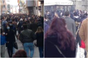 Milano e Roma non sono Napoli, strade piene e assembramenti ma nessuna polemica