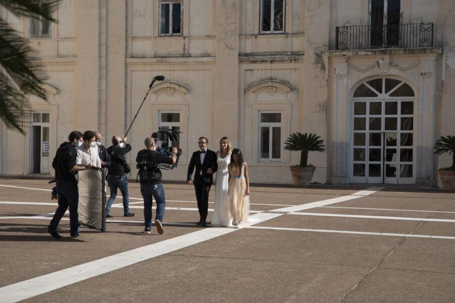 """""""Guardami così"""": partite le riprese del corto sulle bellezze d'Italia con Serena Autieri e Ludovica Nasti"""