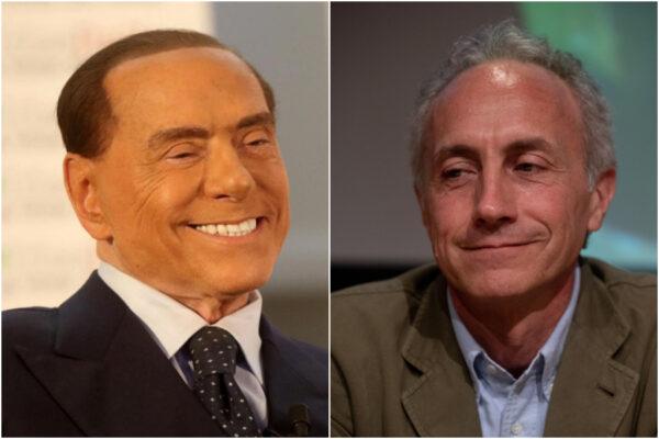 """Travaglio cambia idea su Berlusconi: """"Non è un mafioso, è un padre della Patria"""""""