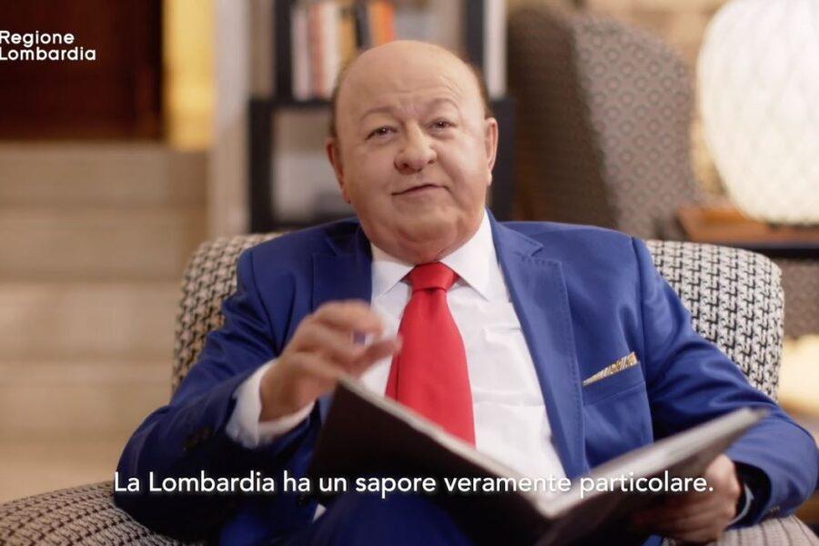 Massimo Boldi nello spot della Lombardia sul Coronavirus: Fontana sceglie l'attore complottista