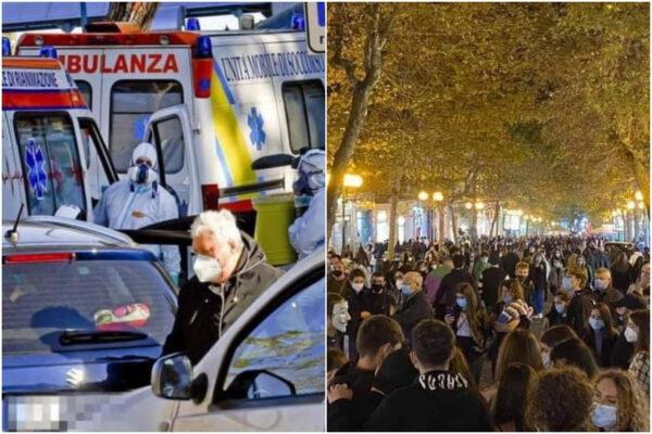 """Campania zona rossa, l'infettivologo del Cotugno avverte: """"Scordatevi pranzo di Natale e festa di Carnevale"""""""