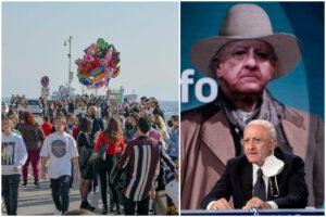 """Campania, De Luca insiste sulla linea dura: """"Serve un piano anti-assembramenti"""""""