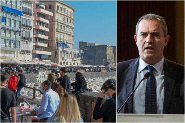 """De Magistris non vuole chiudere le strade di Napoli: """"Esercito per controllare la gente è inappropriato"""""""