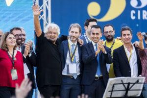 Beppe Grillo, Luigi Di Maio, Davide Casaleggio