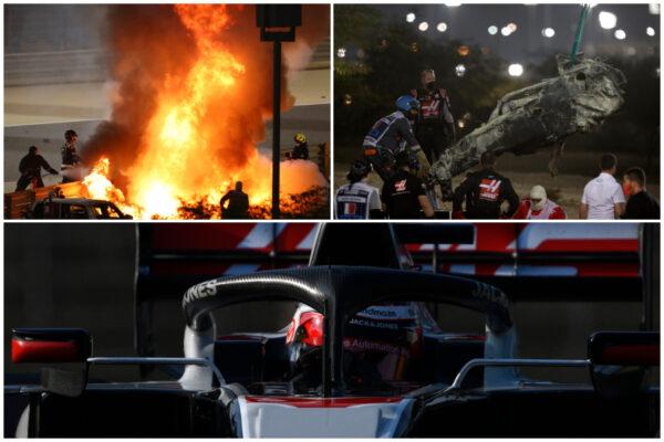Grosjean salvato da Halo: cos'è il sistema che ha protetto il pilota francese di Formula 1