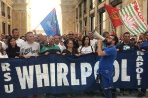 Whirlpool: Fim-Fiom-Uilm, adesione in massa a sciopero In tutta la Campania