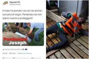 Sulla morte del piccolo Joseph gaffe e imbarazzo del Pd per un post sui social (poi rimosso…)