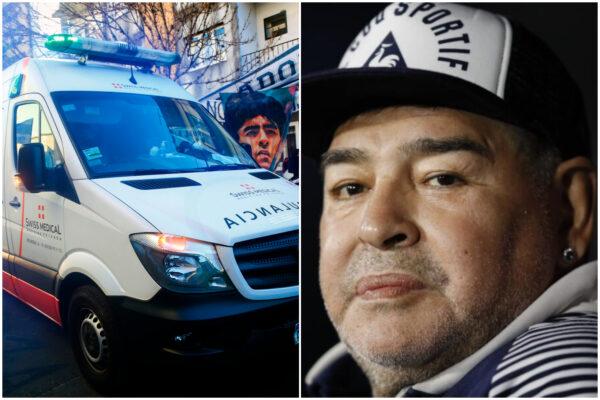 """Maradona, intervento al cervello iniziato a mezzanotte: """"Non ricorda la botta"""""""