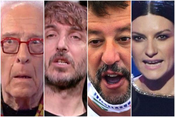 Maradona muore e redime Salvini, la vergogna di Cruciani, Mughini e Laura Pausini