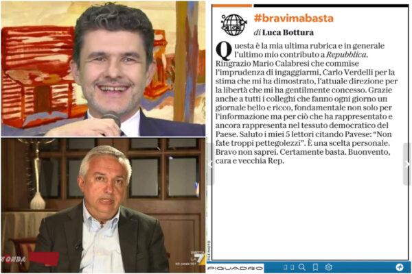 Repubblica perde anche Luca Bottura, il giornalista segue Gad Lerner e 'molla' la direzione Molinari