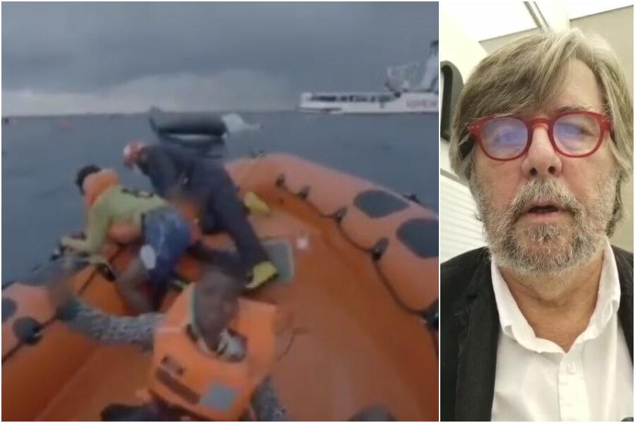 Il video del Cardarelli non è giornalismo, quello di Open Arms invece mostra il dramma del Mediterraneo