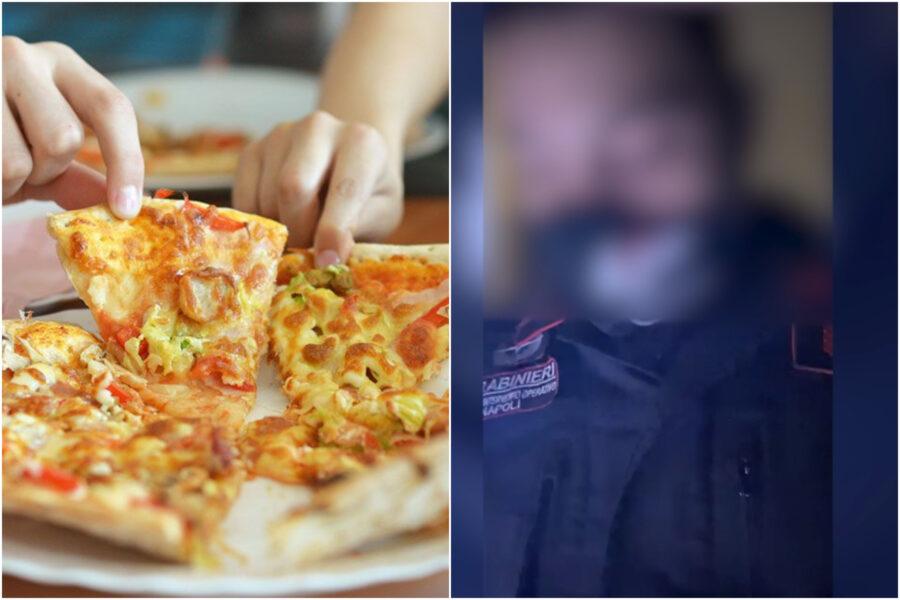 """Pizza e panino a casa con amici, blitz di 10 carabinieri: """"Dateci i documenti"""""""