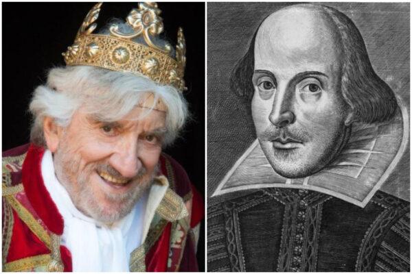 Gigi Proietti come Shakespeare, nato e morto lo stesso giorno: il legame con il Bardo