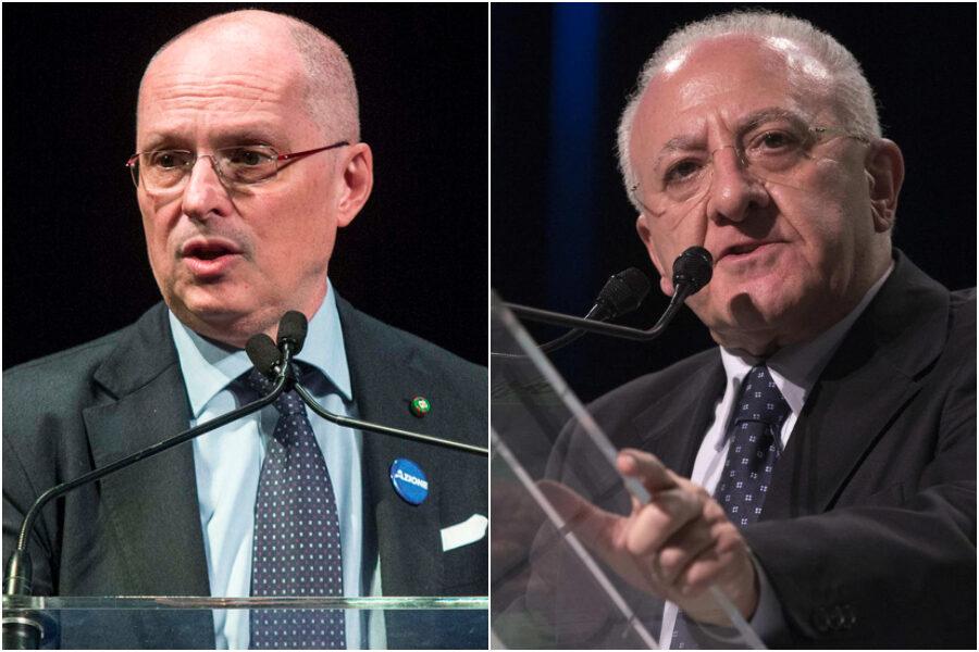 De Luca querela Ricciardi, la ricostruzione dello scontro tra il Governatore e il consulente di Speranza