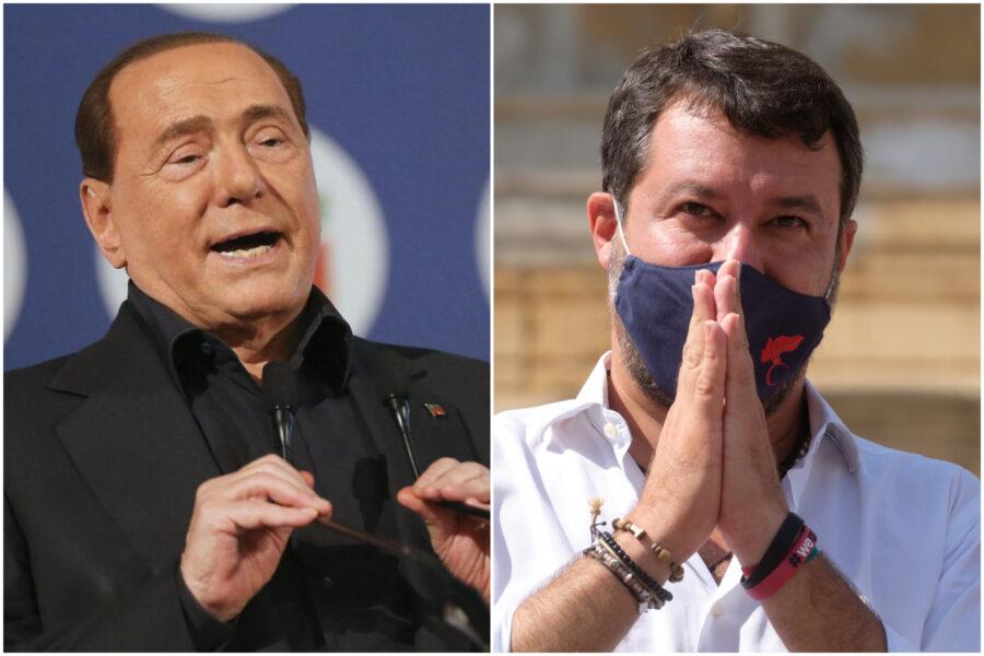 """Berlusconi, lezione di politica a Salvini: """"Mai in maggioranza, abbiamo solo accolto richiamo Mattarella"""""""