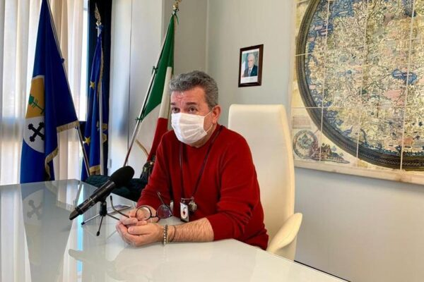 "Il governatore facente funzione Spirlì (Foto da ""Regione Calabria"")"