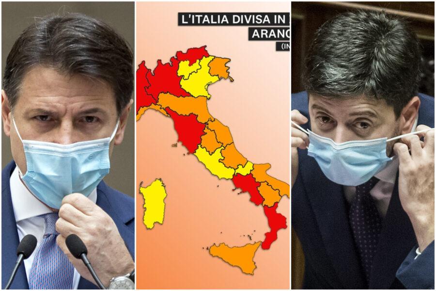 """Abruzzo zona rossa, l'annuncio del governatore Marsilio: """"Restrizioni dal 18 novembre"""""""