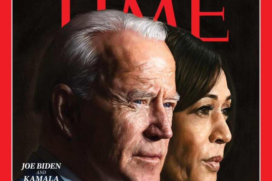 "Joe Biden e Kamala Harris nominati ""Person of the Year"" 2020"