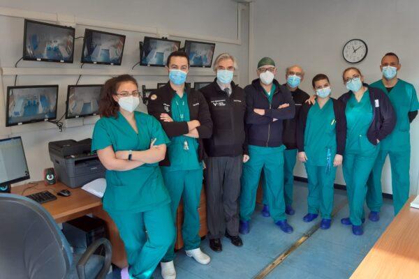 Coronavirus, edificio convertito alle cure: nuovi posti letto per i pazienti positivi