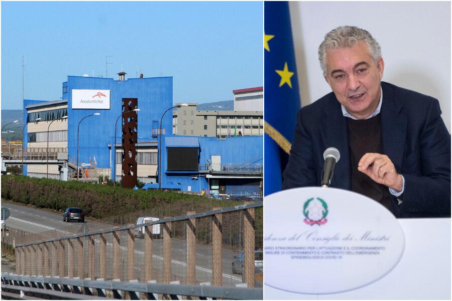 Ritorna l'acciaio di Stato, accordo tra ArcelorMittal e Invitalia: l'ex Ilva nelle mani del supercommissario Arcuri